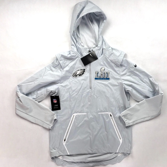 competitive price fff2e 76a20 Nike NFL Philadelphia Eagles Super Bowl 52 Jacket NWT